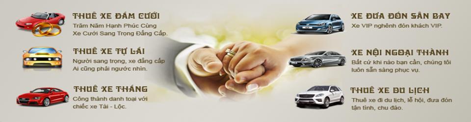 Cho thuê xe phục vụ cưới 29 chỗ