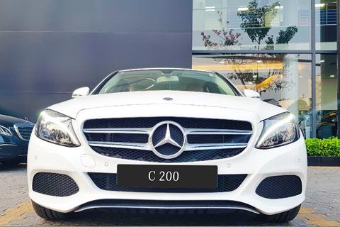 Cho thuê xe theo tháng Mercedes C200