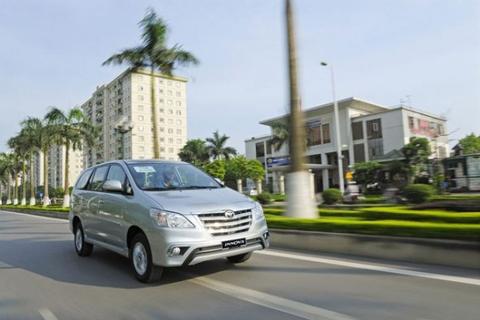 Thuê xe Toyota Innova – Thuê theo tháng tại Hà Nội