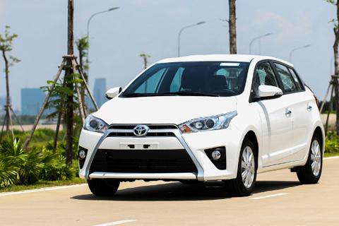 Cho thuê xe Toyota Yaris theo tháng giá rẻ
