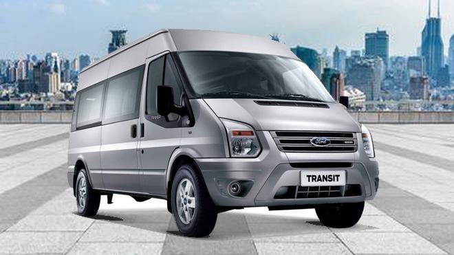 Cho thuê xe 16 chỗ  Ford Transit giá rẻ tại Hà Nội