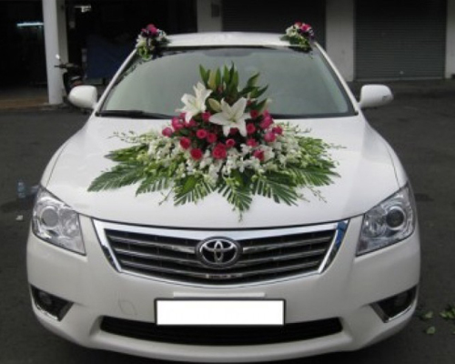 Xe cưới Toyota Vios 4 chỗ