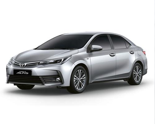 Thuê Xe theo tháng Toyota Corolla Altis