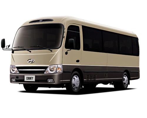 Thuê Xe du lịch Hyundai County 29 chỗ