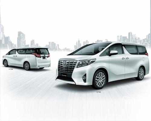 Thuê xe Toyota Alphard  7 chỗ theo tháng