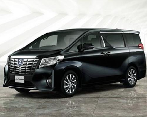 Thuê xe Toyota Alphard  đưa đón sân bay 7 chỗ